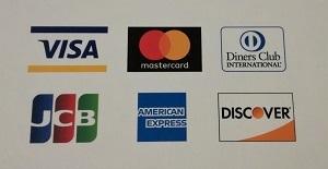 クレジットカードのご利用頂けます(1回払いのみ)